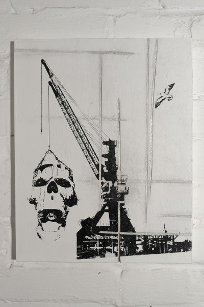 CRANE LOAD-Woodprint