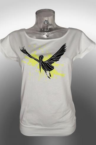 stork-Batwing t-shirt
