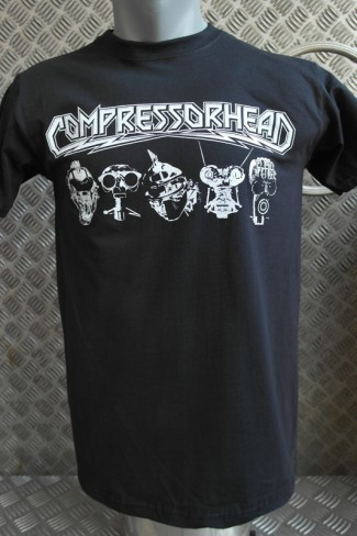 "COMPRESSORHEAD T-SHIRT ""Heads-new"" MEN"
